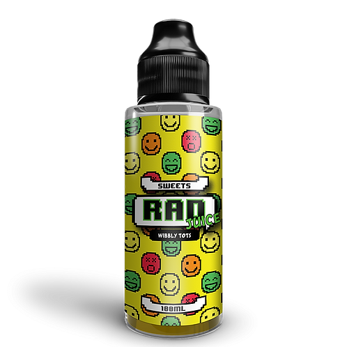 Rad Juice 100ml - Wibbly Tots