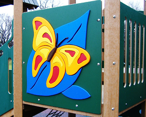 Butterfly Accent Panel