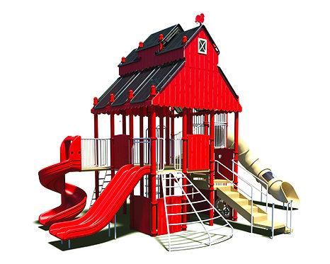 Farm Theme Play Structure
