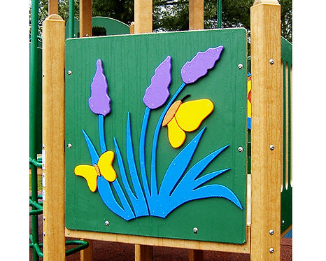 Flower Accent Panel