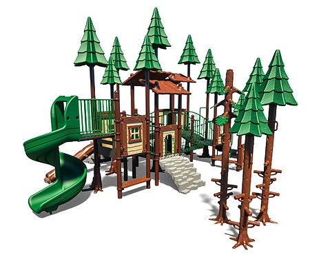 Tree House Theme Play Structure