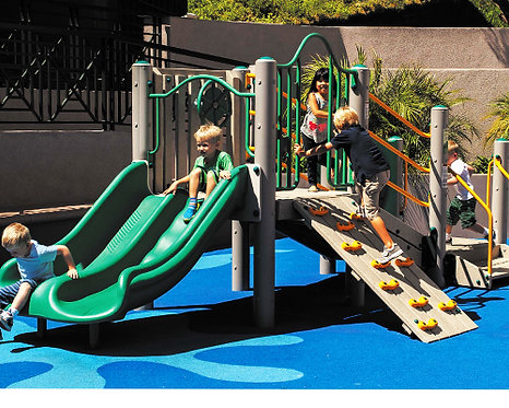 Chalet Play Structure