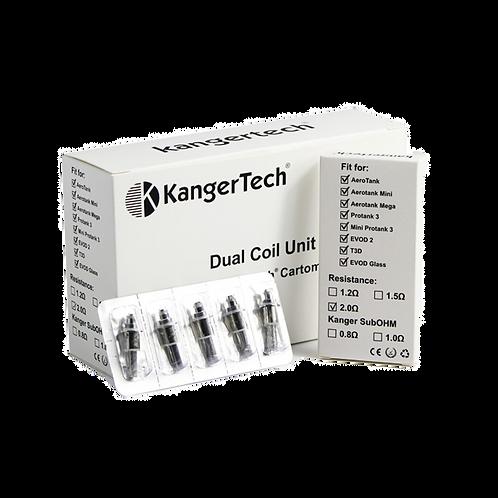 Kangertech Dual Coils (5 pack)