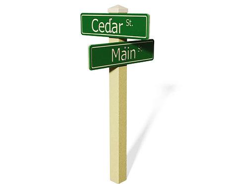 Street Sign Post