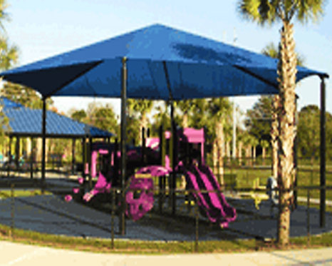 Hexagon or Octagon Shade Structure
