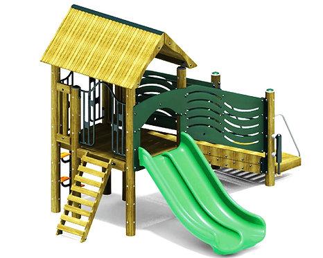 Preschool Play Structure Double Dutch