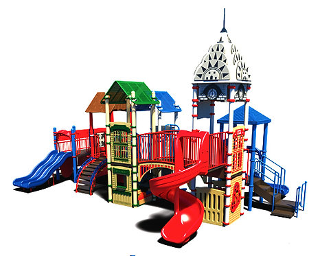 City Theme Play Structure