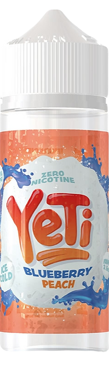 Yeti 100ml Shortfill - Blueberry Peach