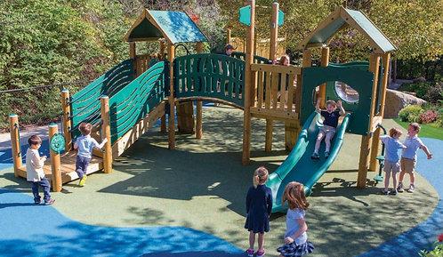 Resort Preschool Play Structure