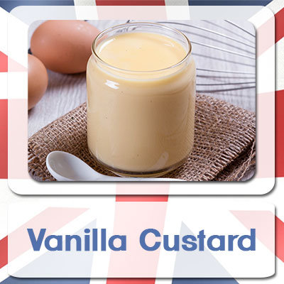 Vanilla Custard E-Liquid 10ml