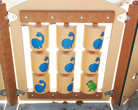 Dinosaur Spinner Panel