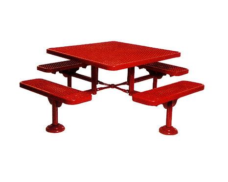 Quad Metal Table