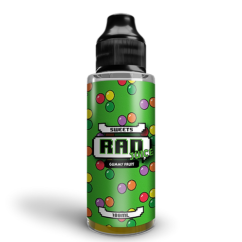 Rad Juice 100ml - Gummy Fruit