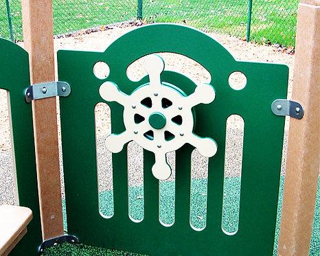 Ship Wheel Panel