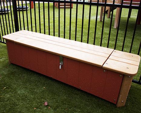 4' Storage Bench