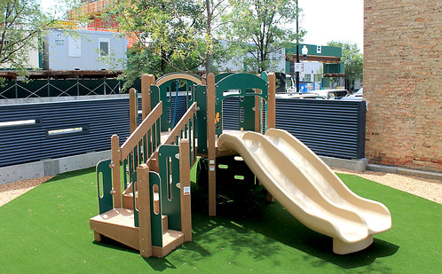Preschool Tree Play Structure (3)