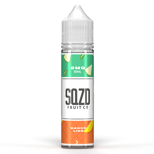 SQZD Fruit Co Mango & Lime 50ml Shortfill