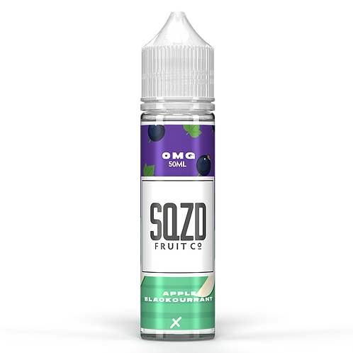 SQZD Fruit Co Apple & Blackcurrant 50ml Shortfill