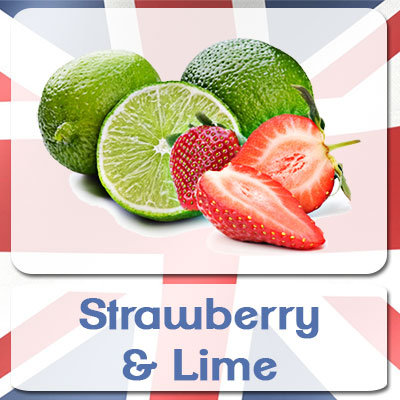 Strawberry & Lime E-Liquid 10ml