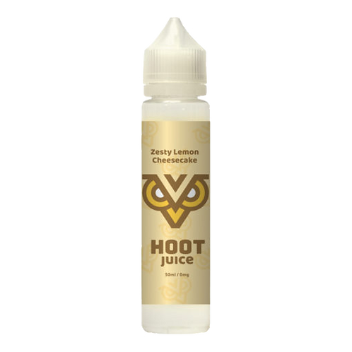 Hoot Juice Zesty Lemon Cheesecake Shortfill