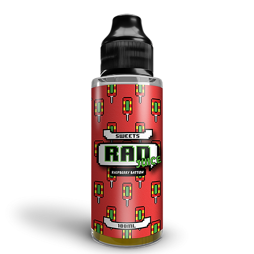 Rad Juice 100ml - Raspberry Batton