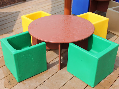 Circle Table (Table Only) (Toddler/Preschool various hts)