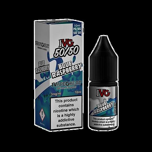 IVG 50:50 Range 10ml - Blue Raspberry