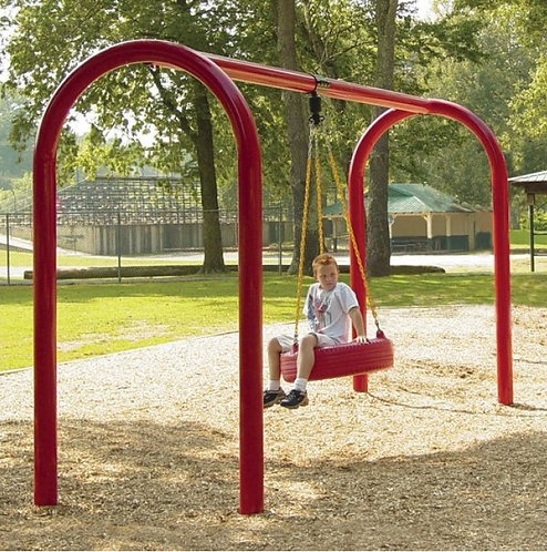 "5"" Arch Single Bay Tire Swing"