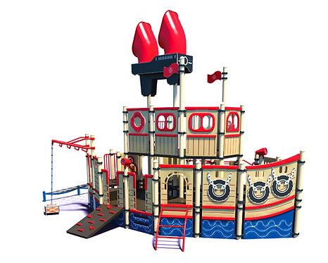 Fishing Theme Play Structure