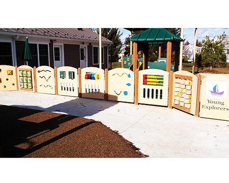 Activity Panel Fence Wall - Custom