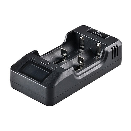 XTAR VP2 Charger (inc plug & car adaptor)