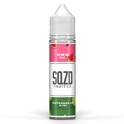 SQZD Fruit Co Watermelon & Kiwi 50ml Shortfill