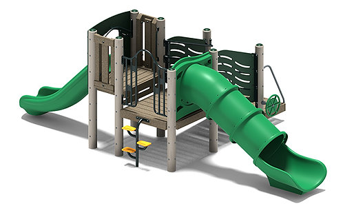 Preschool Play Structure w/out Roof Merriment