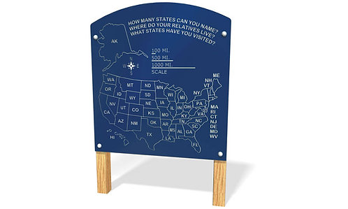 US Map Panel