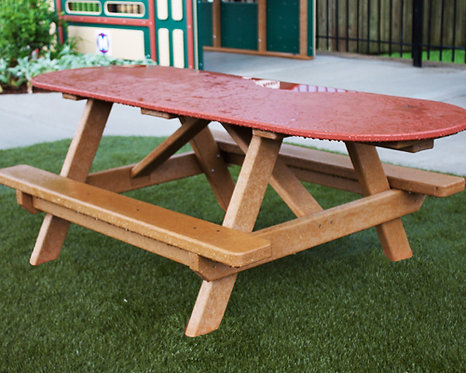 8' ADA Picnic Table w/ HDPE To
