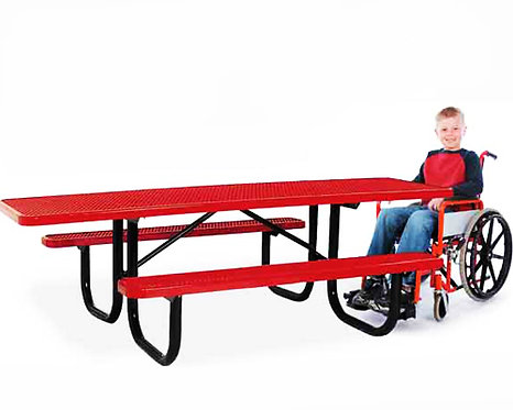 ADA Accessible Metal Table