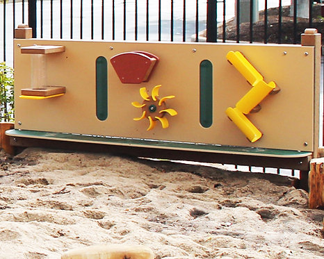 7' Sand Activity Wall w/ Posts