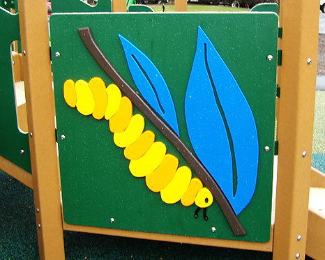 Caterpillar Accent Panel
