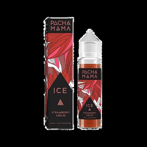 Pacha Mama 50ml Shortfill - Strawberry Jubilee Ice