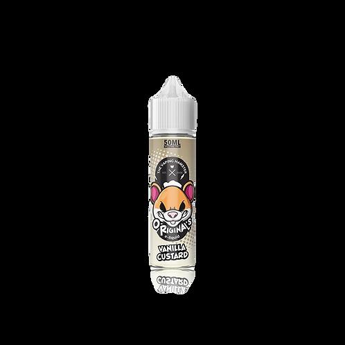 Vaping Hamster Vanilla Custard 50ml Shortfill