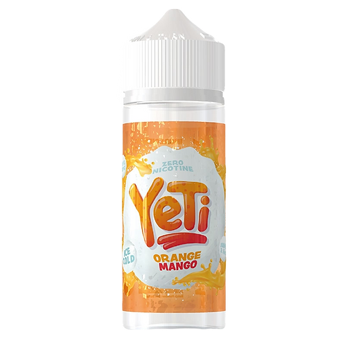 Yeti 100ml Shortfill - Orange Mango