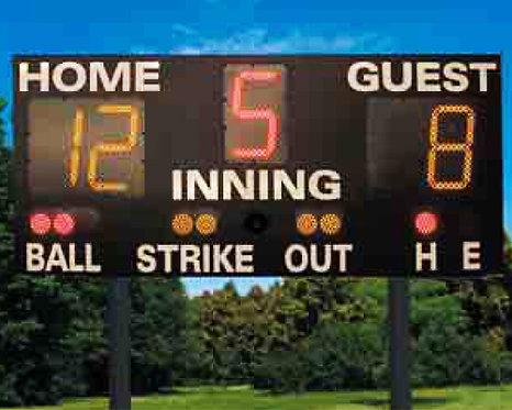 Outdoor Scoreboard