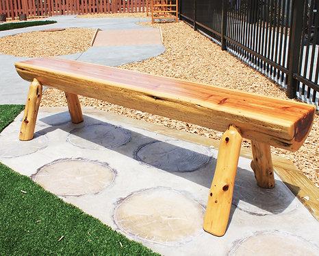 6' Cedar Bench