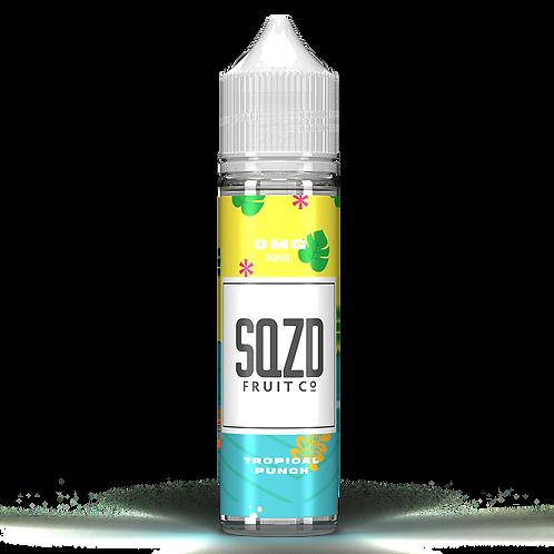 SQZD Fruit Co Tropica Punch 50ml Shortfill