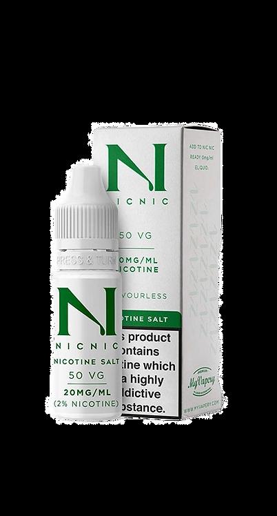 Nic Salt Nicotine Shot