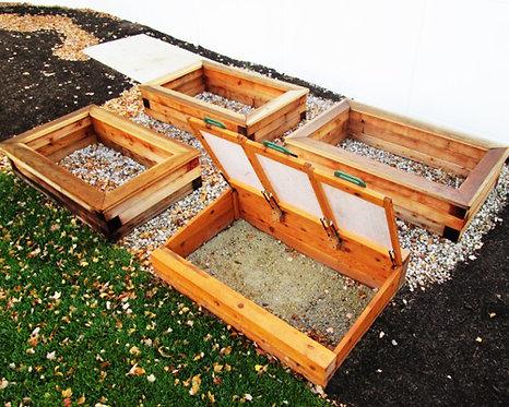 Cedar Garden Box Set
