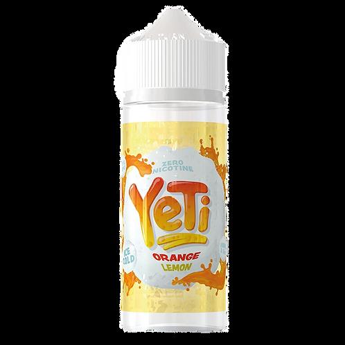 Yeti 100ml Shortfill - Orange Lemon