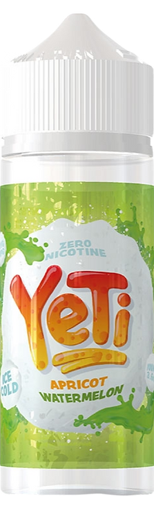 Yeti 100ml Shortfill - Apricot Watermelon