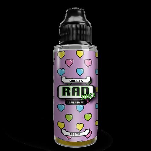 Rad Juice 100ml - Lovely Hearts