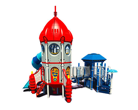Rocket Theme Play Structure